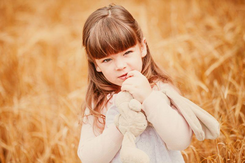 портрет,ребенок,лето,пшеница ***photo preview