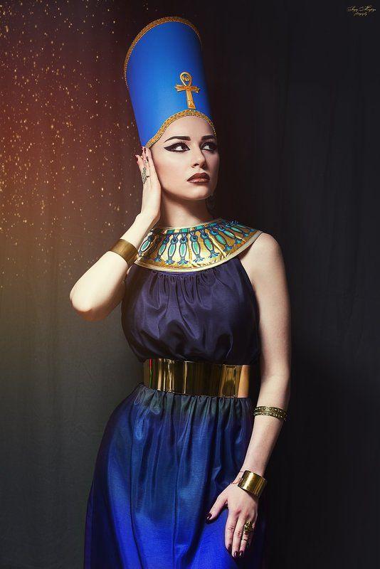 portrait,women Nefertiti photo preview