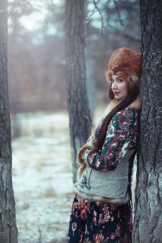 Портрет девушки  ***photo preview