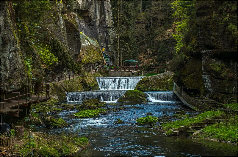 Kamenice, Hrensko, Czech, Каменице, Хрженско, Чехия [kamenice]photo preview