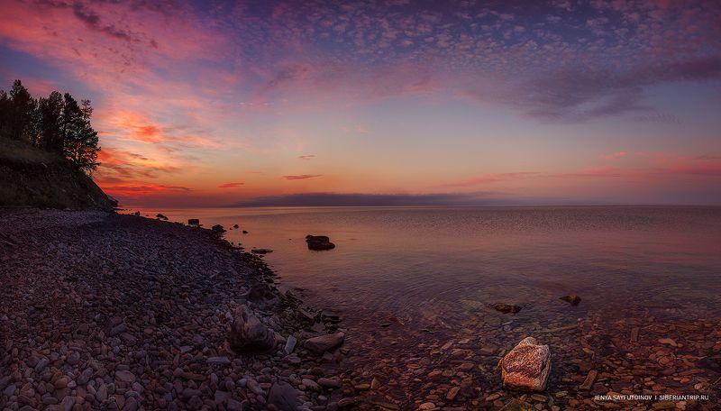 байкал, ольхон, рассвет, туризм, путешествие Багряные сполохи зари...photo preview
