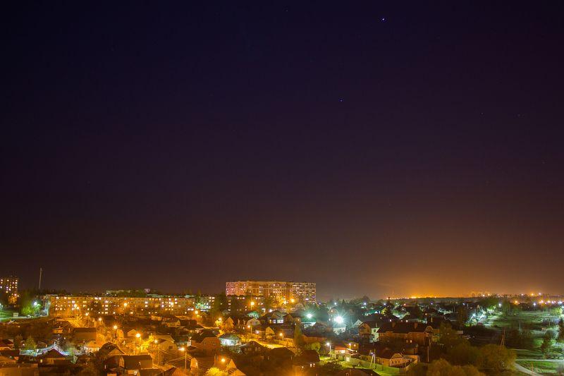 город-герой, тула, ночь, огни, небо Ночные огниphoto preview