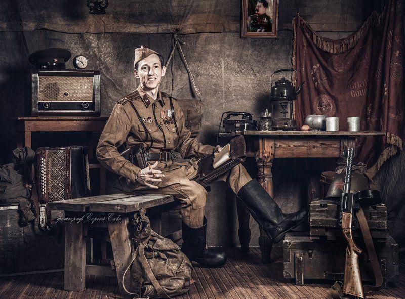 военная история, военная форма, отечественная война, 9 мая, день победы, семейная военная история Военная историяphoto preview