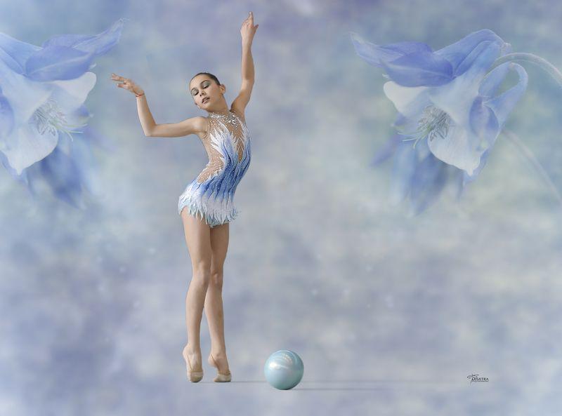 Rhythmic gymnastic artsphoto preview