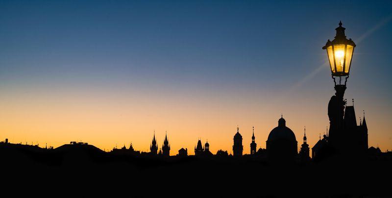 Ночная Прагаphoto preview