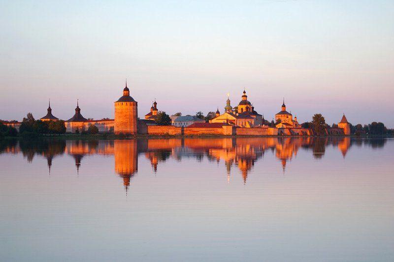 кириллов, монастырь, закат Кириллово-Белозерский монастырьphoto preview