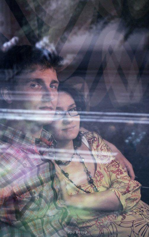 портрет, пара, любовь В ожидании первенцаphoto preview