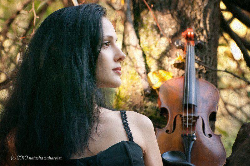 Осенняя скрипка...photo preview