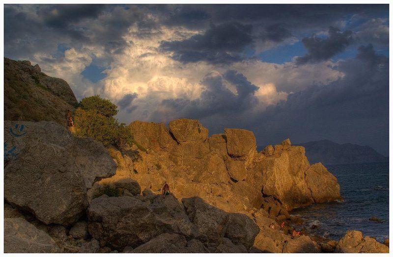 крым,горы,алчак вечер за Алчакомphoto preview