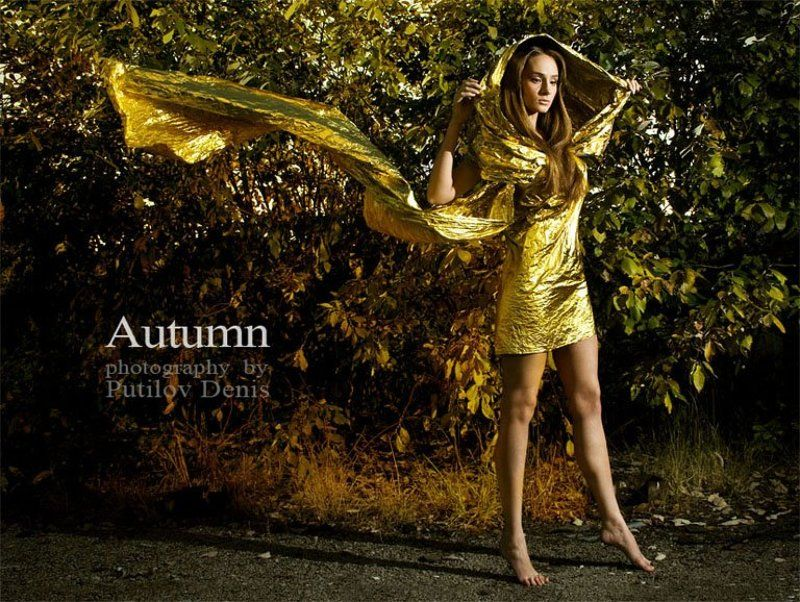 путилов, креатив, девушка, смысл, идея Autumn - Осеньphoto preview