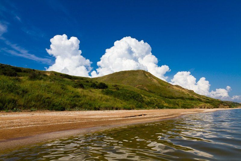 пейзаж, море, лето, небо, облака ***photo preview