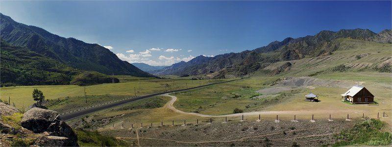 алтай, калбак-таш, панорама, горы Калбак-Ташphoto preview