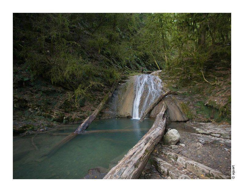 водопады, природа, горы, лес Водопадыphoto preview