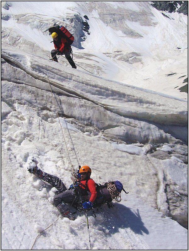 тянь_шань, ледник Срыв...!photo preview