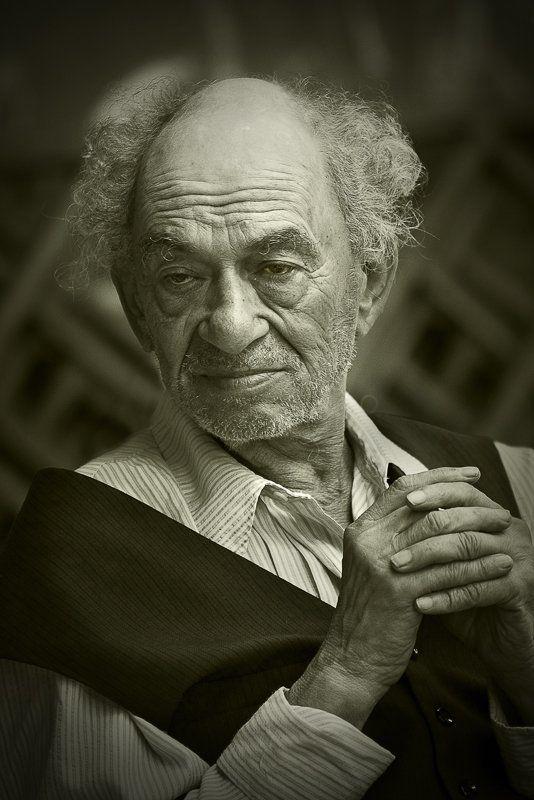 портрет, размышления, старость, старый, портной, одесса Reflectionsphoto preview