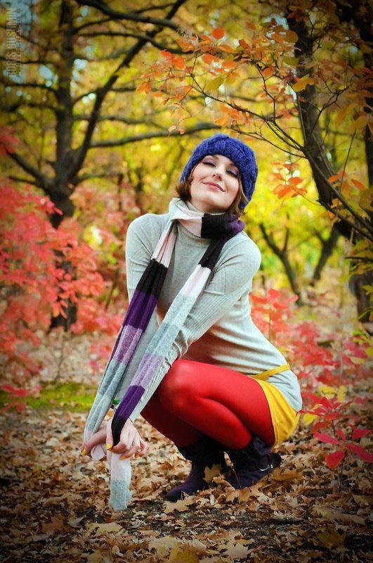 девушка, модель, портрет, осень, листья, красота, autumn, wood, forest, лес Краски осениphoto preview