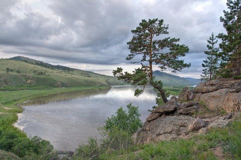 бурятия, река, селенга Река Селенгаphoto preview