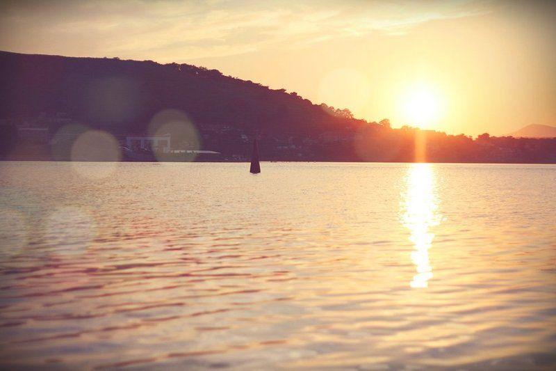 безверхово, закат, вечер, утки, море, блики, солнце Вечерело...photo preview