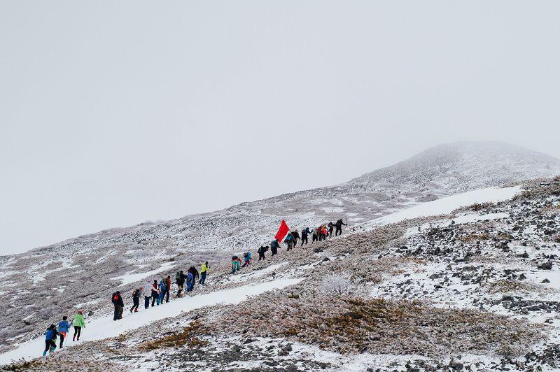 гора, май, пейзаж Восхождениеphoto preview