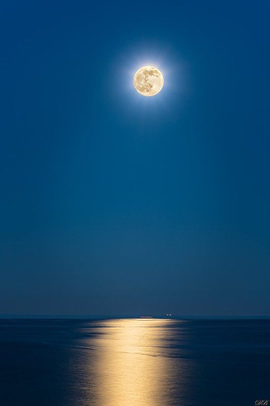 blue, color, colors, color image, image, landscape, moon, moonlight, night, photography, sea, seascape, Moonlightphoto preview