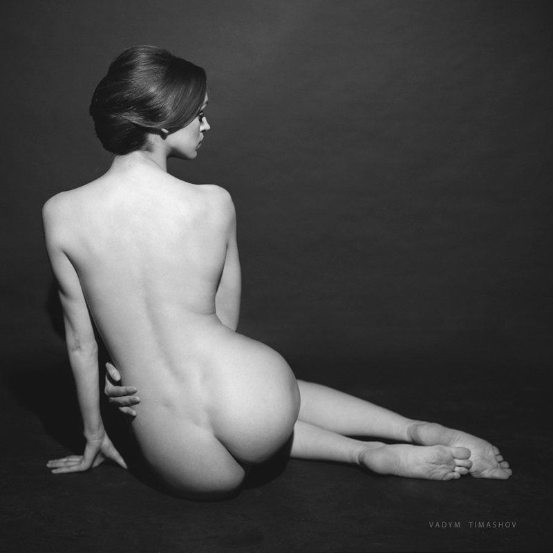 art, beauty, nude, print, portrait, vadym timashov, black and white, film, model *****photo preview