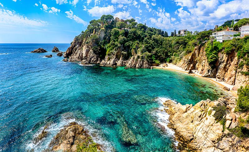 costa brava, costa brava spring, sea , beach, spring, spain Коста Брава весной.photo preview