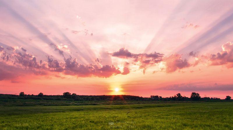 Закат, природа, пейзаж Закатphoto preview