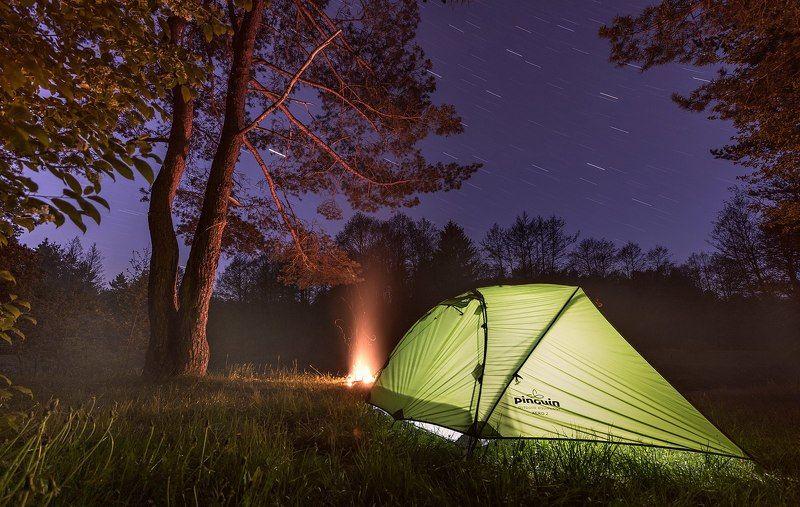 поход туризм d810 май весна ночь звёздылес Наедине с природойphoto preview