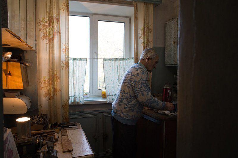 В гостях у дедушки...photo preview