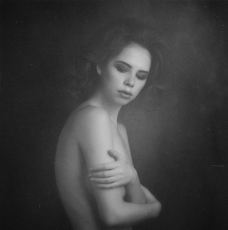 арт,портрет,девушка,черно-белое, Когда-нибудь.photo preview