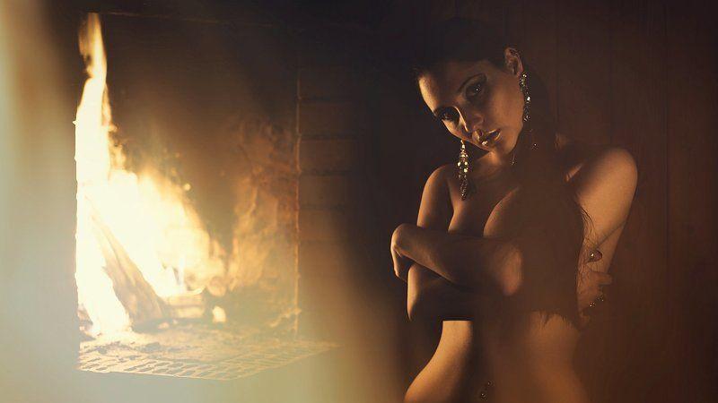 модель, ню, девушка, свет, гламур, фэшн, огонь, портрет Мракобесие и джазphoto preview