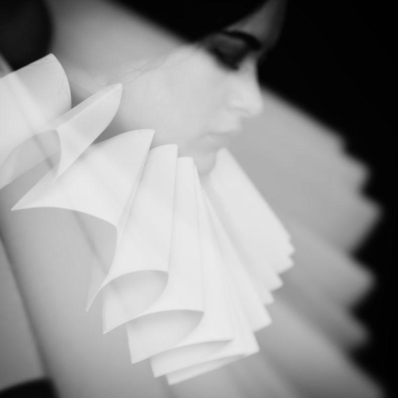 портрет, черно-белая Автопортретphoto preview