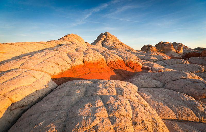 сша, пейзаж, аризона, белый карман, другой мир, вечер, марс, закат Другой мир 2photo preview