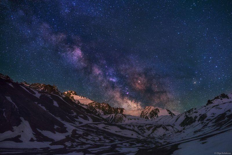 млечный путь, ночь, ночное небо, звездная ночь, туюк-су, ночной пейзаж ***photo preview