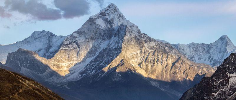 горы, непал, ама даблам, треккинг, гималаи Ама Даблам.photo preview