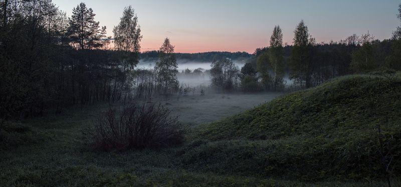 Туман, Тверь, Тверская область, Вечер Тверская областьphoto preview
