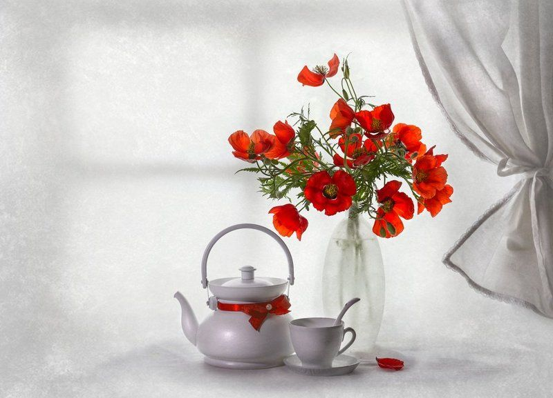 весна, май, натюрморт, цветы, маки,настроение Яркие моменты мая...photo preview