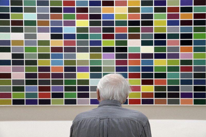 человек, современное, искусство, новое, старое, музей Contactphoto preview
