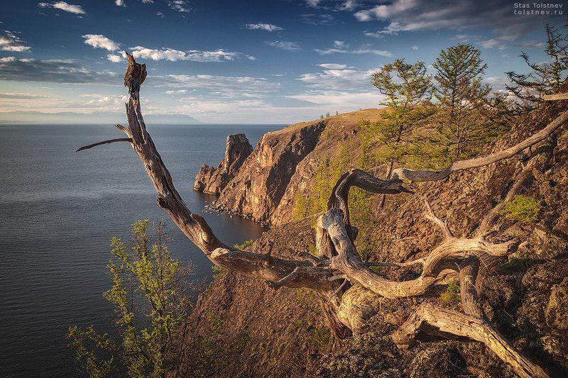 Мыс Хобой на Байкале.photo preview