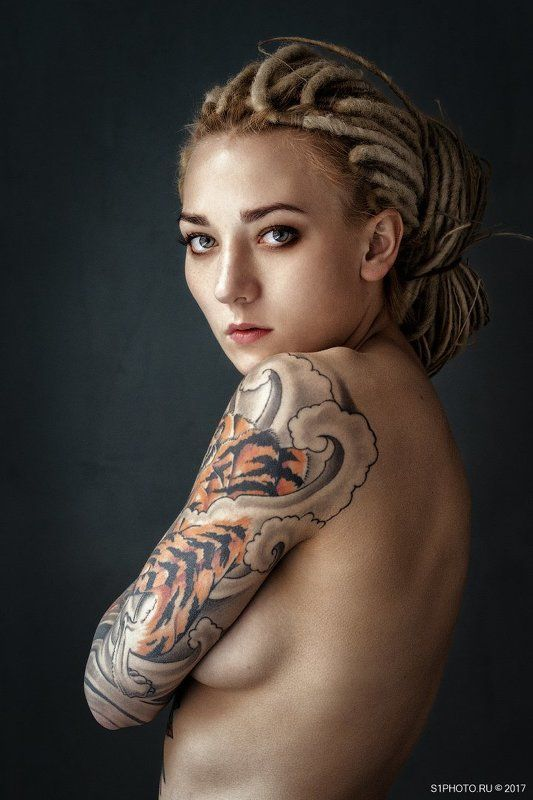 tattoo, girl, sexy, beauty, beautiful, nude Девушка с тату 5829photo preview