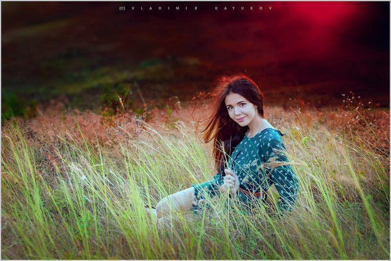 олеся, лето, поле, девушка Олеся.photo preview
