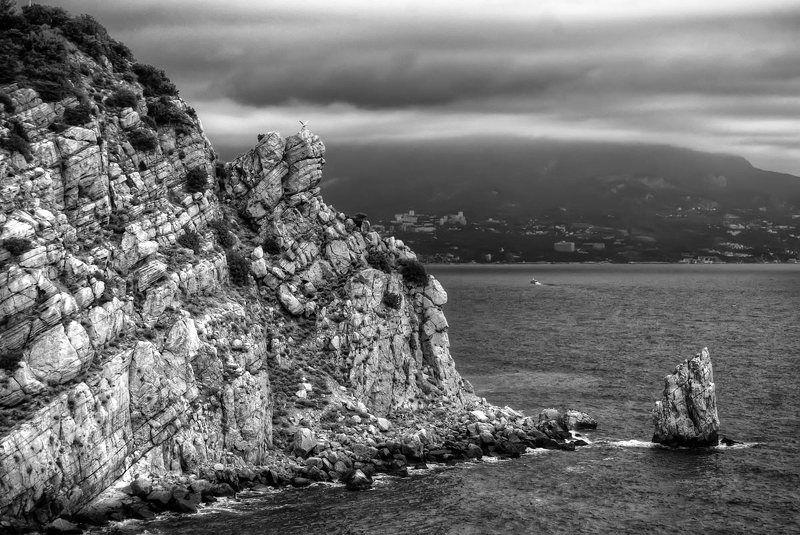 горы, пейзаж, море,ялта (***)photo preview