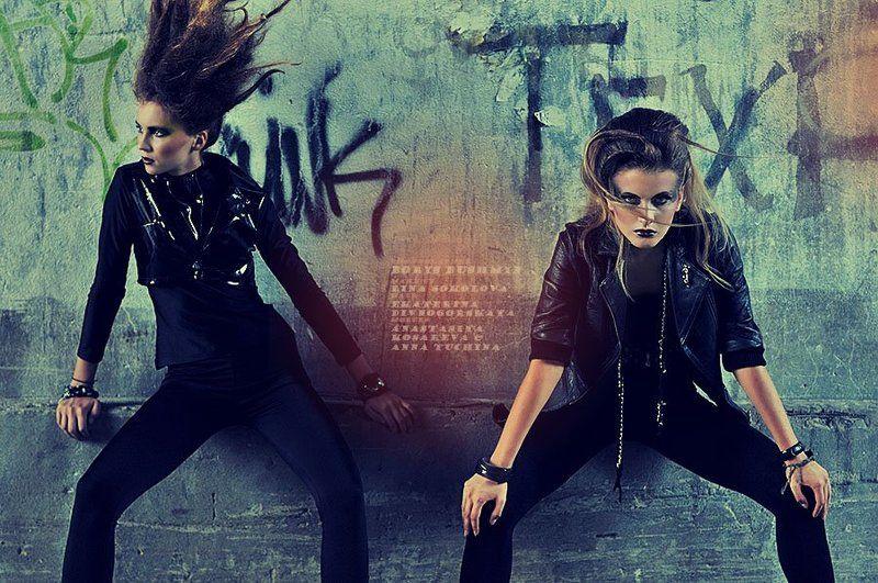 девушка, модель, портрет, гламур, рок, панк, улица, girl, model, portrait, glamour, rock, pank, street из серии \