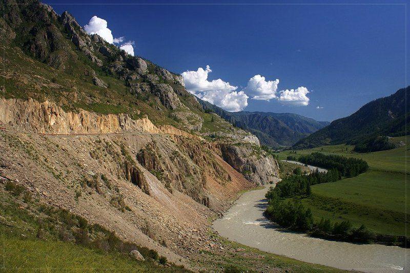алтай, чуя, горы Изгибphoto preview