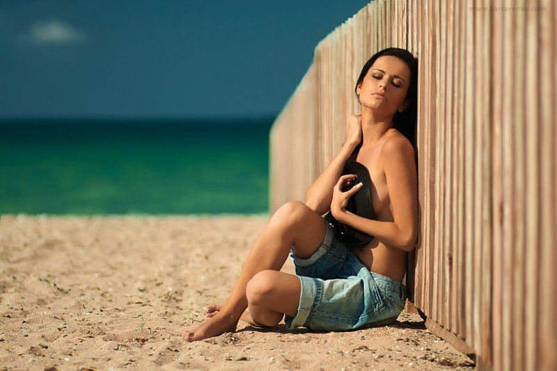 девушка, |лето, |море, |зной|, время|, жара|, релакс summer timephoto preview