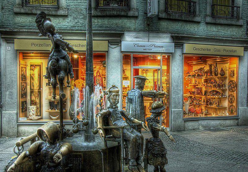puppenbrunnen, aachen Puppenbrunnenphoto preview