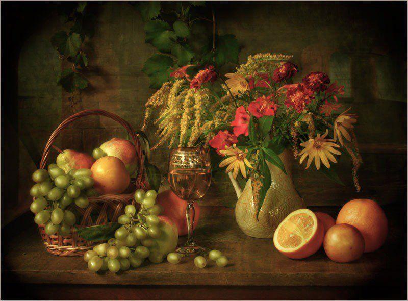 цветы ,фрукты Осенний сфруктамиphoto preview