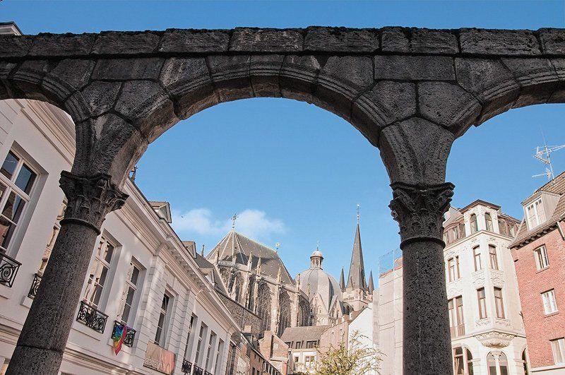 римская, арка, аахен Римская аркаphoto preview