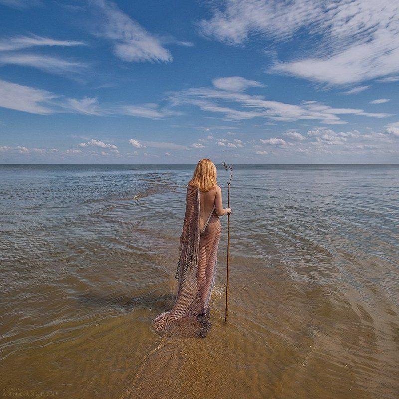 ню, женщина, эротика, природа, море, пленер, девушка, nude, woman, nature, sea, erotic, обнажённая натура Русалииphoto preview