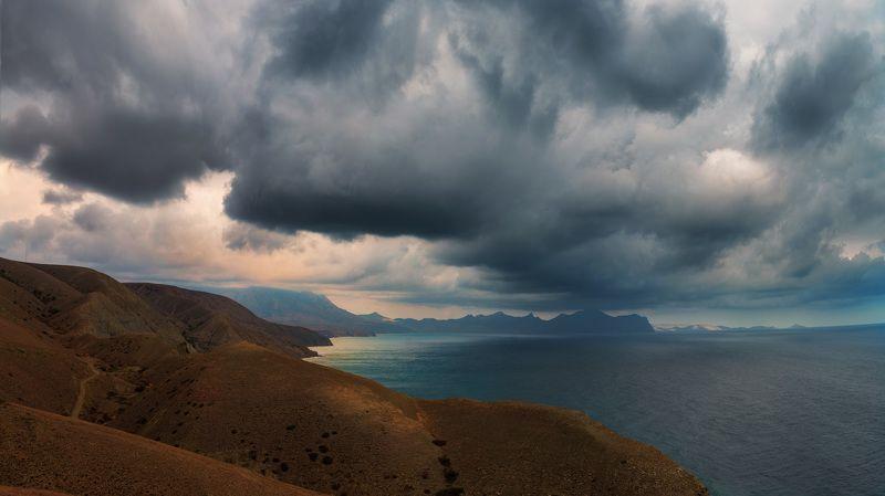 крым, пейзаж, море photo preview